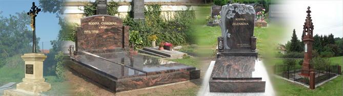 Opravy a rekonstrukce hrobu a krizu